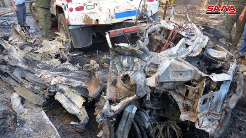 سوريا: إصابة 11 مدنياً جراء تفجير إرهابي قرب كنيسة بالقامشلي