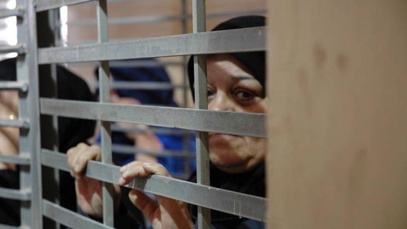 إجراءات استفزازية صهيونية بحقّ أسيرات سجن الدامون