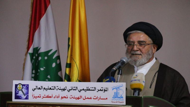 السيد ابراهيم أمين السيد: نعيش مرحلة تحولات جوهرية ستحسم مصير المنطقة