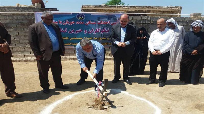 """حملة """"واجبنا أن نقف معهم"""" مستمرة .. توزيع تبرعات للمتضررين من الفيضانات في خوزستان"""