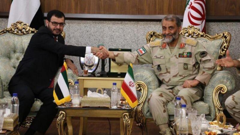 تعاون إيراني إماراتي لدعم الأمن الحدودي