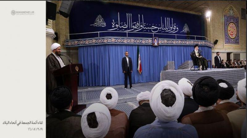 الإمام الخامنئي: قرصنة بريطانيا البحرية لن تبقى دون ردّ وتقليص التزامات إيران في الاتفاق النووي مستمرّ