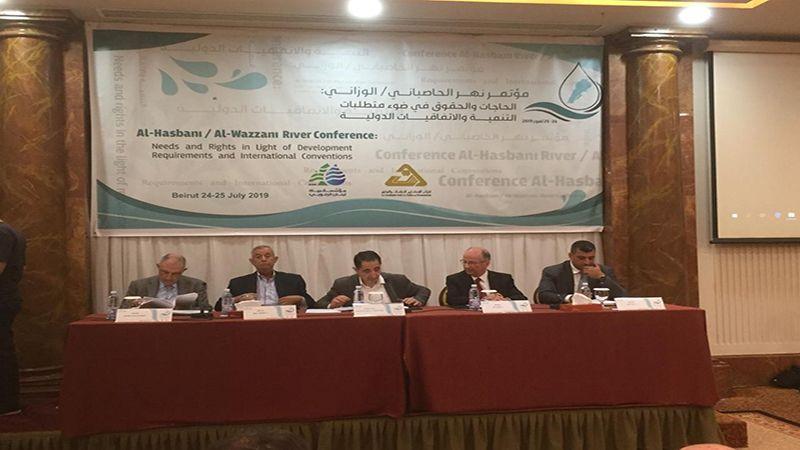 """لبنان يناقش الهدر والخطر على نهر الحاصباني الوزاني .. """"اسرائيل"""" اولاً"""