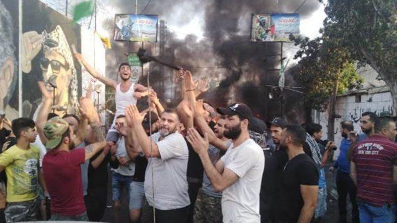 المُخيمات الفلسطينية تنتفض بوجه قرار وزارة العمل اللبنانية