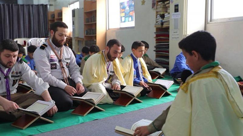 طلاب في مدارس القرآن .. اليوم استاذة في الترتيل والتجويد (فيديو)