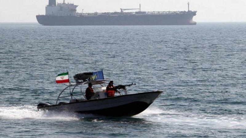 الحرس الثوري الايراني يحتجز سفينة أجنبية لتهريب الوقود في الخليج