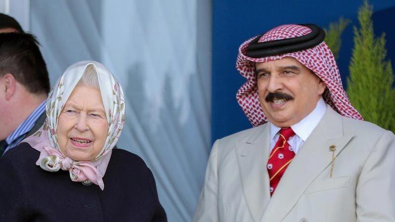 انتقادات لزيارة ملك البحرين لبريطانيا