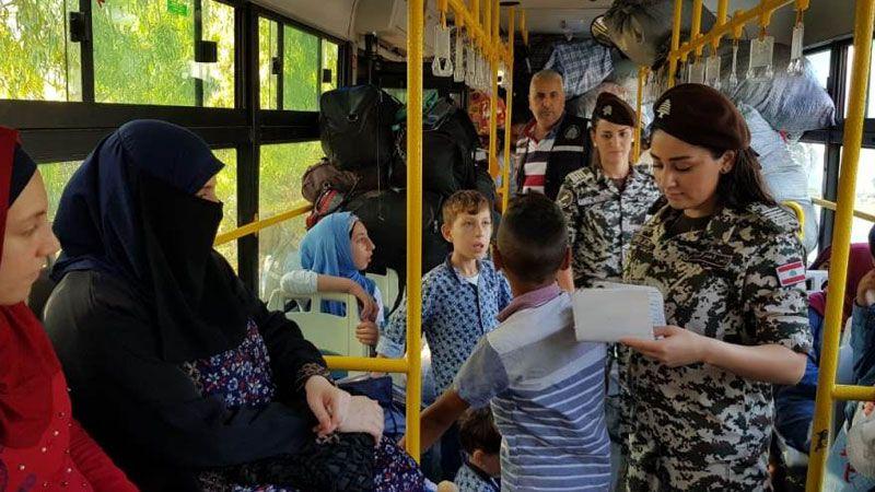 دفعة جديدة من النازحين تغادر لبنان إلى سوريا