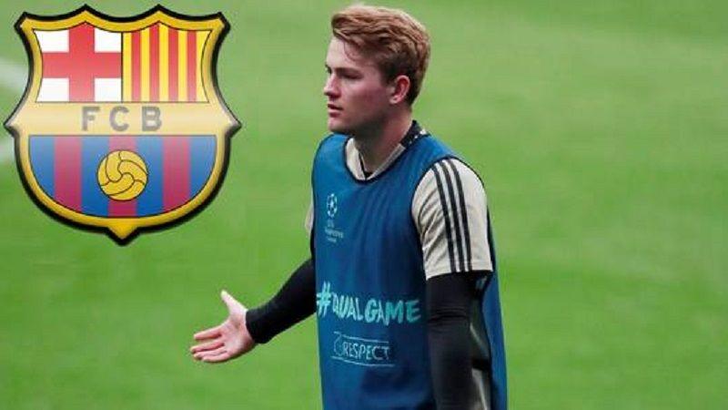 ما سر انسحاب برشلونة من صفقة الهولندي دي ليخت؟!