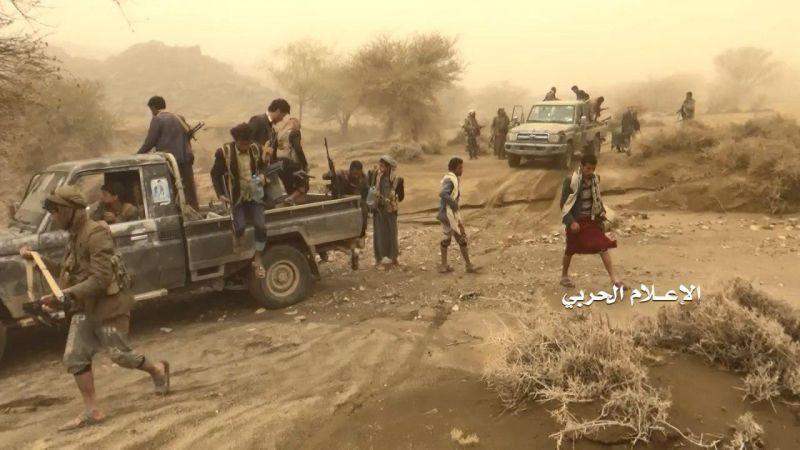 بالصور - خسائر العدوان السعودي خلال عملية واسعة للجيش اليمني في نجران