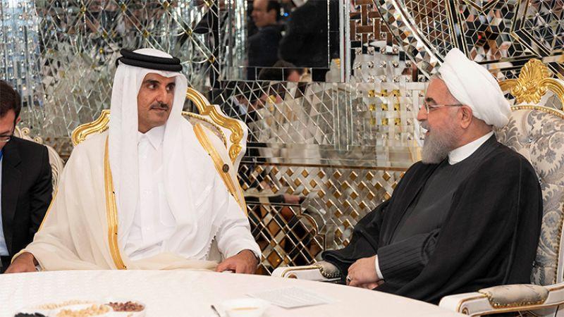 تميم في اتصال مع روحاني: نرحب بالعلاقات الثنائية مع إيران لتوفير الأمن الإقليمي