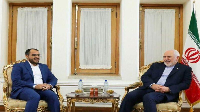 ظريف يلتقي عبد السلام: يجب إنهاء الحصار المفروض على اليمن