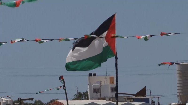 الفلسطينيون يحيون الذكرى 71 للنكبة في مخيمات العودةفي غزة