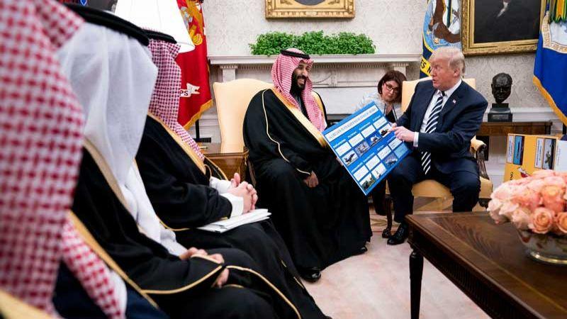 """""""نيويورك تايمز"""": ترامب سمح بتطوير قنابل أمريكية في السعودية"""