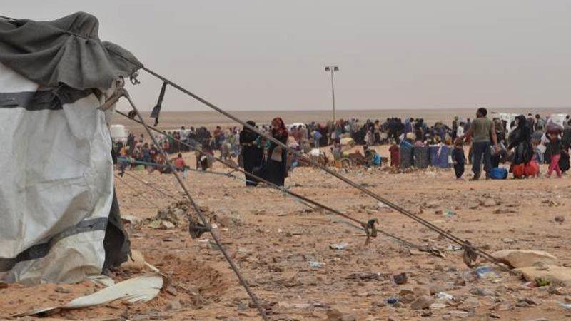 واشنطن ترفض إطعام 30 ألف نازح سوري جائع من مخيم الركبان