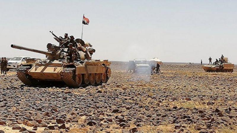 الجيش السوري يستعيد السيطرة على بلدات الصخر وتل الصخر وصوامع الجيسات بريف حماة