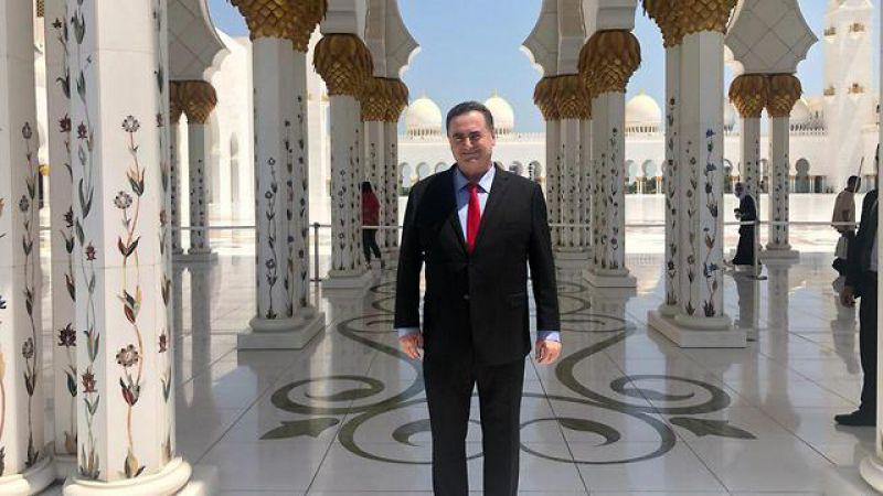 وزير الخارجية الصهيوني يزور أبو ظبي
