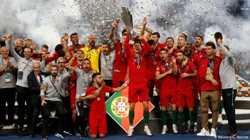 البرتغال بطلة لدوري الأمم الأوروبية