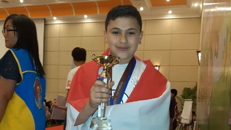ابن الجنوب اللبناني.. الأول عالميًا في بطولة الحساب الذهني
