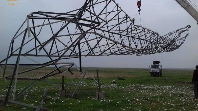 التيار الكهربائي يعود إلى عشرين قرية في ريف الحسكة
