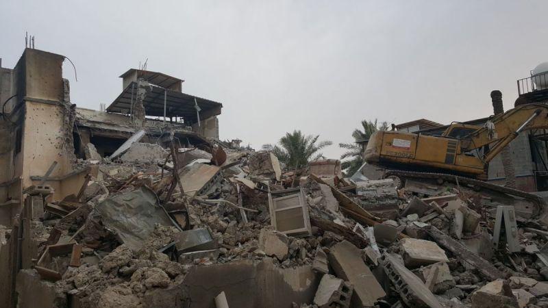 القوات السعودية تهدم أحياء السنابس وتُجبر ساكنيها على إخلاء منازلهم