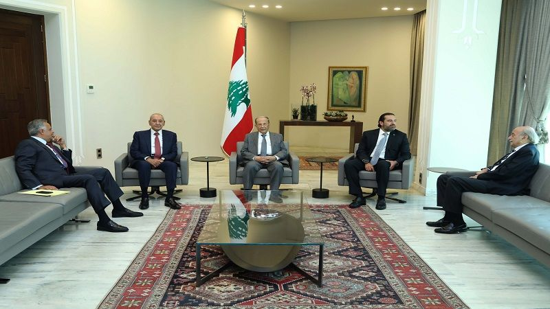 مصالحة في قصر بعبدا بين جنبلاط وأرسلان .. الحريري: جلسة لمجلس الوزراء غدا