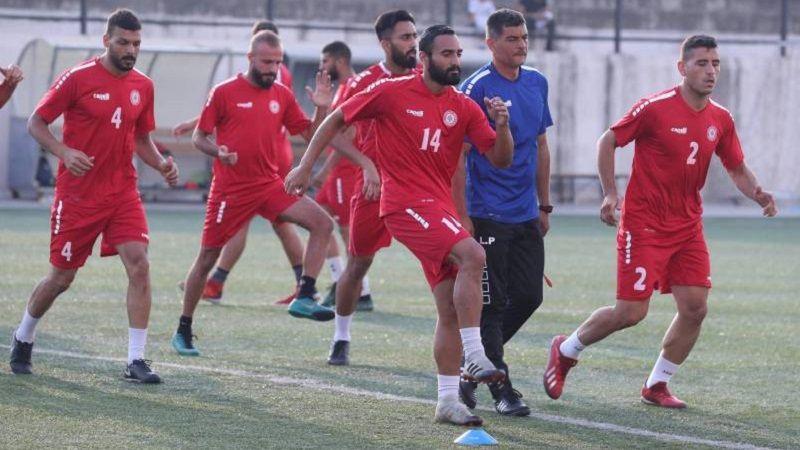 لبنان يواجه فلسطين وعينه على الفوز الثاني في بطولة غرب آسيا