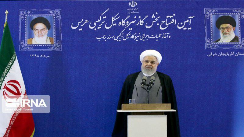 روحاني: الأعداء سيندمون على فرض الحظر على إيران
