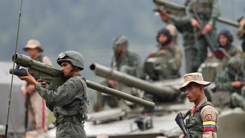 فنزويلا: مناورات عسكرية لحماية الحدود في 24 تموز الجاري
