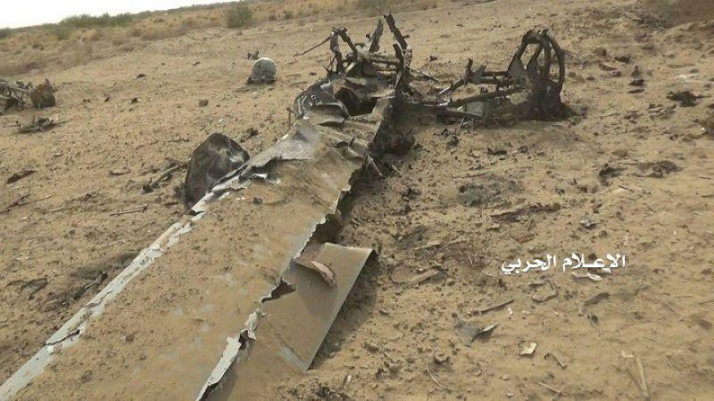 الدفاعات الجوية اليمنية تسقط طائرة أمريكية في الحديدة