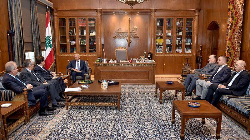 الرئيس بري يُبدي دعمه لعمل لجنة المال