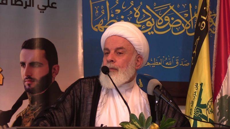 الشيخ عبد الكريم عبيد: لاستراتيجية وطنية تحمي لبنان من التهديدات الصهيونية