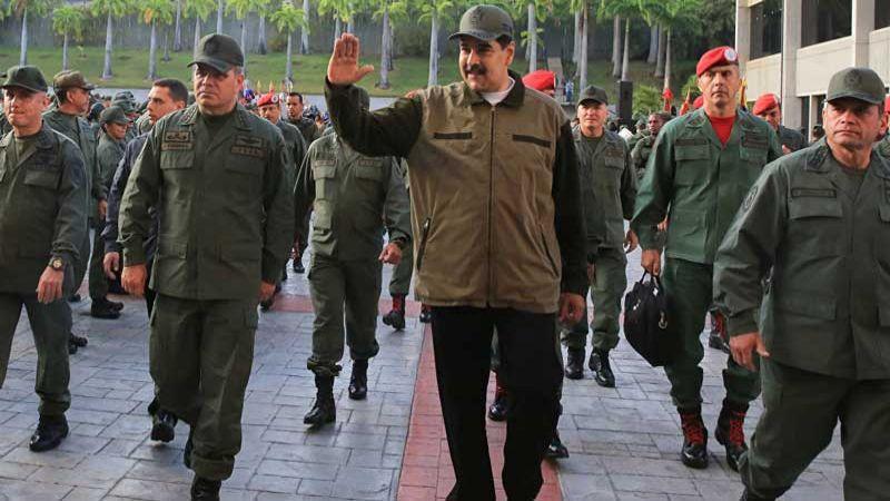 مادورو: على العسكريين أن يكونوا جاهزين للدفاع عن بلادهم ضد أي هجوم أمريكي