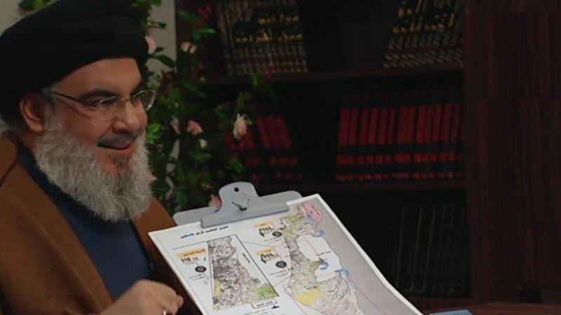 """السيد نصرالله يأسر """"اسرائيل"""": 8200 ترجمت كلّ كلمة له والضبّاط يرفعون له القبعة"""