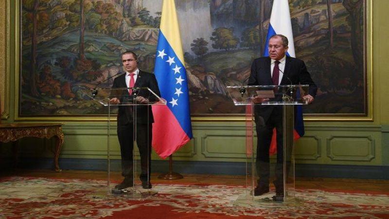 لافروف وأرياسا: أي تدخل في فنزويلا خارج الشرعية الدولية قد يؤدي إلى كارثة