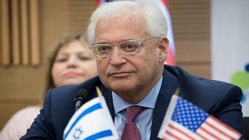 السفير الأمريكي يحتفل بعيد استقلال بلاده في القدس المحتلة