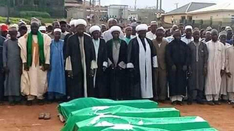 نيجيريا: تشييع 6 شهداء من أصل 11 سقطوا بنيران الشرطة نصرةً للشيخ الزكزاكي