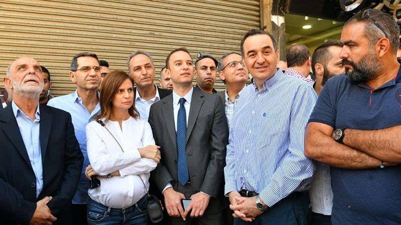 بستاني تطلق حملة نزع التعديات في بعلبك: الحملة مستمرة في كل لبنان