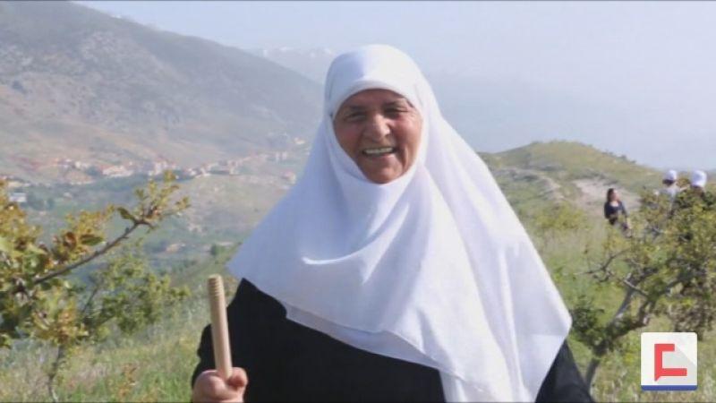 بالفيديو: رحلة ربيعية على قمم جبال مشغرة