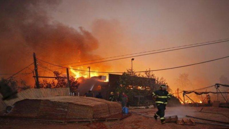بالفيديو: الحرائق تجتاح  المستوطنات
