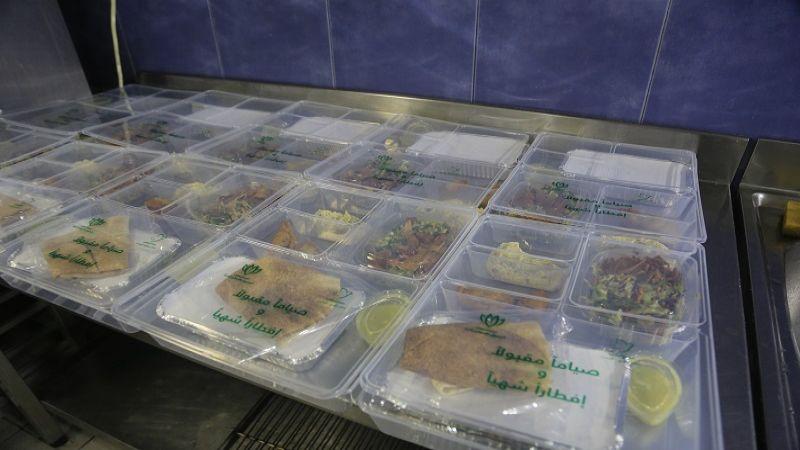 بالصور .. وجبات رمضانية من مستشفى الرسول الأعظم(ص) للعوائل المحتاجة