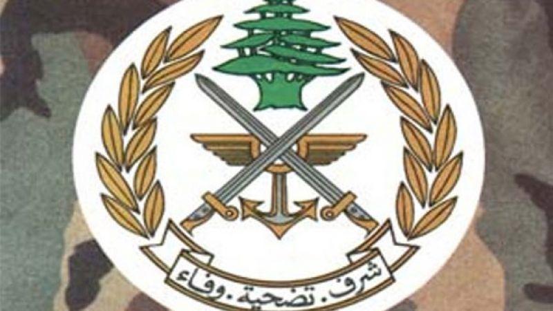 الجيش اللبناني: اتخذنا التدابير اللازمة في منطقة البساتين بعد حادثة ليل أمس