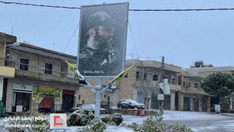 قرى لبنان بالأبيض