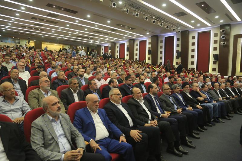 بالصور- الاحتفال المركزي لحزب الله في ذكرى يوم الشهيد