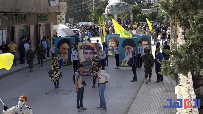 حزب الله يشيّع الشهيد أحمد خير الدين في بعلبك بعد استعادة جثمانه