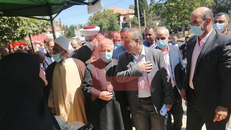 افتتاح سوق المزارع في بعلبك