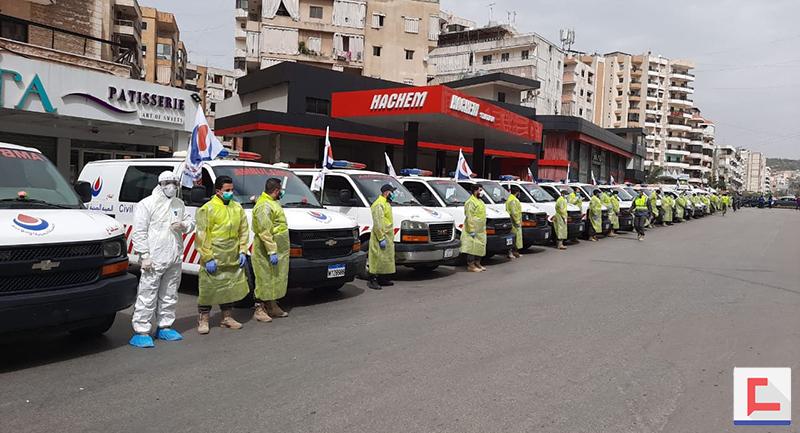 """حزب الله يعرض استعداداته لمواجهة """"كورونا"""" في الضاحية"""