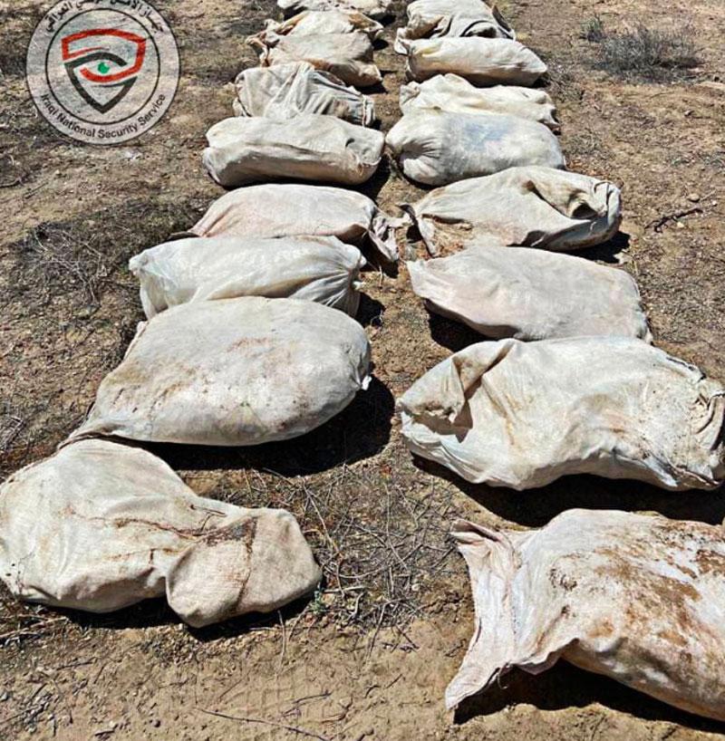 العراق: العثور على طن من المواد شديدة الانفجار في بغداد