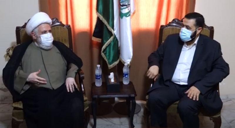 الشيخ قاسم: معادلة جديدة تصنع في فلسطين.. ترابط باللحم الحي والصواريخ