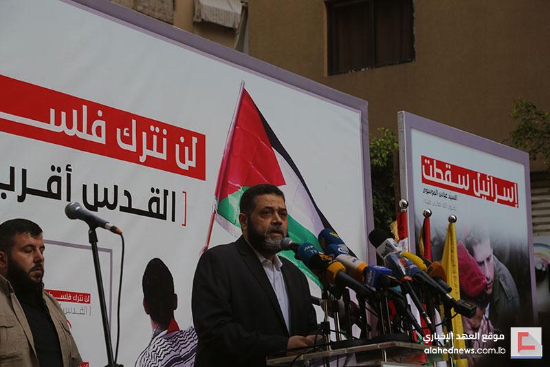 من حارة حريك لغزة..معركتنا واحدة ونصرنا نصركم